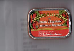 Boîte Sardines Millésimées 2010 - à La Luzienne Piment Espelette Jambon Bayonne - Conserverie La Belle-iloise - 1/6 - Other