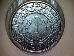 Surinam 1 Cent 1979 - Suriname 1975 - ...