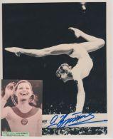 Olga Korbett Vintage Picture And Autograph - Autógrafos