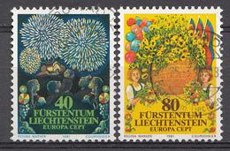 Liechtenstein 1981  Mi.Nr: 764-765  Europa  Oblitèré / Used / Gebruikt - Liechtenstein