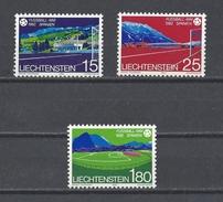 """LIECHTENSTEIN . YT 740/742 Neuf ** """"Espana 82"""". Coupe Du Monde De Football 1982 - Liechtenstein"""