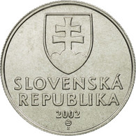 Slovaquie, 20 Halierov, 2002, FDC, Aluminium, KM:18 - Slovaquie