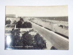 Cartolina Rimini - Lungomare E Spiaggia -- 1954 - Rimini