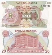 Uganda - 20 Shillings 1982 UNC Ukr-OP - Uganda
