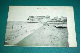 Cartolina Nettuno - Panorama E Marina Di Levante 1900 Ca - Rimini