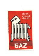 Buvard Ancien Gaz Radiateur Avec Tête Mouton Doux Chaud Docile - G