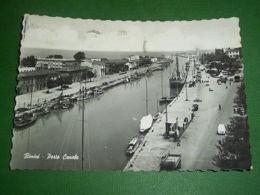 Cartolina Rimini - Porto Canale 1963. - Rimini