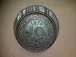 Surinam 10 Cents 1976 - Suriname 1975 - ...