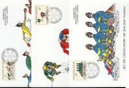 Liechtenstein MK/Nr. 79 Olympische Winterspiele 3 Maximumkarten - Maximum Cards
