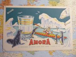 """Amora La Moutarde De Dijon Dans Son Verre """"givre Et Or"""" 1 - Buvards, Protège-cahiers Illustrés"""