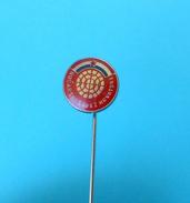 CROATIAN PETANQUE FEDERATION  # 4. ( Rare Pin ) Badge Boule Bowls Petanca Bocce Jeu De Boules Bocha Bowling - Bowls - Pétanque