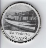 Lugano - La Vedetta - Piccolo Specchio / Petit Miroir - Bateaux