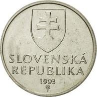Slovaquie, 5 Koruna, 1993, FDC, Nickel Plated Steel, KM:14 - Slovaquie