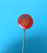CROATIAN PETANQUE FEDERATION  # 5. ( Rare Pin ) Badge Boule Bowls Petanca Bocce Jeu De Boules Bocha Bowling - Bowls - Pétanque