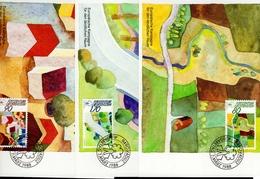 Liechtenstein MK/Nr. 81 Ländlicher Raum 3 Maximumkarten - Maximum Cards