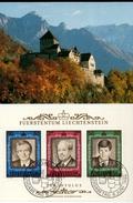 Liechtenstein MK/Nr. 82 Thronfolge 1 Maximumkarten - Maximum Cards