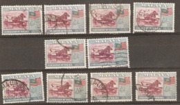 Malaya 1957 SG 3 25c Good Fine Used, Sound Copies X10 - Timbres