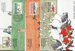 Liechtenstein MK/Nr. 83 Olympische Sommerspiele 4 Maximumkarten - Maximum Cards