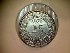 Surinam 25 Cents 1976 - Surinam 1975 - ...