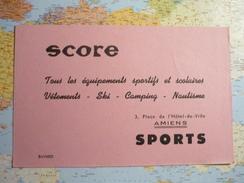 Score Amiens - Sports
