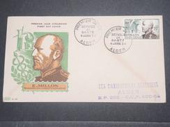 FRANCE / ALGÉRIE - Enveloppe FDC De Millon En 1954 - L 8642 - Algérie (1924-1962)