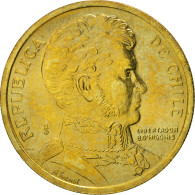 Chile, 10 Pesos, 2006, Santiago, FDC, Aluminum-Bronze, KM:228.2 - Chile