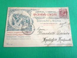 Cartolina Milano - Pubblicità Ceramiche Richard Ginori 1913 - Milano (Milan)