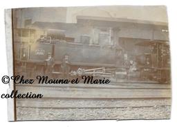 TENDER LOCOMOMOTIVE PLM - MACHINE N° 5646 - TYPE 030T - TRAIN - PHOTO 11.5 X 8 CM - Trains
