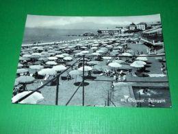 Cartolina Chiavari - Spiaggia 1958 - Genova (Genoa)