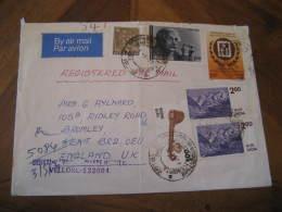 ALBERT EINSTEIN Celebrities Celebrites VELLORE 1979 Stamp On Air Mail Cover INDIA - Albert Einstein