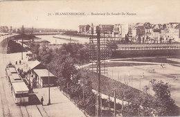 Blankenberghe - Boulevard De Smedt-De Naeyer (animation, Tram, Tramway, Tennis, Edit. Henri Georges) - Blankenberge