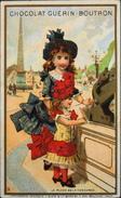 Chromo & Image - Chromo. Tour Doré - Chocolat Guérin-Boutron - La Place De La Concorde - En TB. état - Guérin-Boutron
