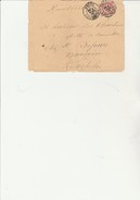 ALGERIE - LETTRE AFFRANCHIE N°125 TIMBRE DE FRANCE OBLITERE CAD - BISKRA -CONSTANTINE -4 MARS 1903 - Otros