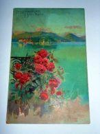 Cartolina Lago Maggiore - Isola Bella - Pubblicità Lysoform 1920 Ca - Verbania