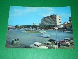 Cartolina Riccione - Piazzale Lungomare 1962 - Rimini