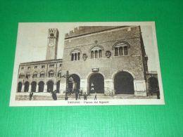 Cartolina Treviso - Piazza Dei Signori 1927 - Treviso