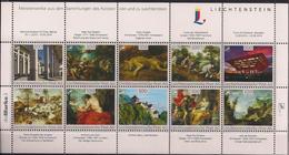 """2014 Liechtenstein """" DieMarke.li """" Nr. 1 """" Meisterwerke Aus Den Sammlungen Des Fürsten - Blocks & Sheetlets & Panes"""