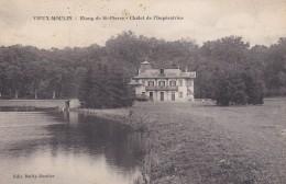 D10 - 60 - Vieux-Moulin - Oise - Etang De St-Pierre - Chalet De L'Impératrice - France
