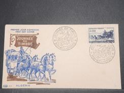 FRANCE/ ALGÉRIE - Enveloppe FDC De La Journée Du Timbre De Sidi Bel Abbes En 1952 - L 8653 - Algérie (1924-1962)