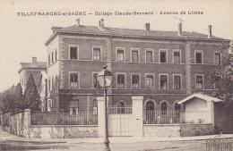D10 - 69 - Villefranche-sur-Saône - Rhône - Collège Claude-Bernard - Avenue De Limas - Villefranche-sur-Saone