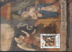 Liechtenstein MK/Nr. 98 Weihnachten 3 Maximumkarten - Maximum Cards