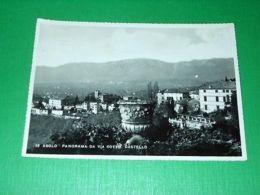 Cartolina Asolo - Panorama Da Via Sotto Castello  1950 Ca - Treviso