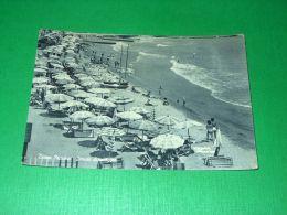 Cartolina Diano Marina - Scorcio Di Spiaggia 1955 Ca - Imperia