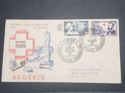 FRANCE/ ALGÉRIE - Enveloppe FDC Croix Rouge En 1954 - L 8662 - Algérie (1924-1962)