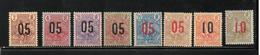 GUINEE     NEUF Sans Charnière    N** Et N*    N° 55 à 62    N**   (   58 N*  )  1912   Cote: 24,15  € - Guinea Francesa (1892-1944)