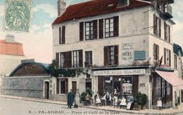 Palaiseau, Place Et Café De La Gare - Palaiseau