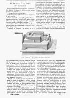 LE MOTEUR ELECTRIQUE De M. MARCEL DEPREZ   1879 - Non Classificati