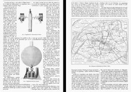 L'UNIFICATION De L'HEURE à PARIS   1881 - Sciences & Technique