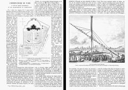 L'OBSERVATOIRE  DE PARIS  Le NOUVEAU MUSEE  ASTRONOMIQUE Et Le AGRANDISSEMENTS De L'OBSERVATOIRE  1881 - Paris