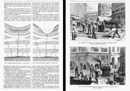 L'ASPHALTE Son ORIGINE GEOLOGIQUE , SA PREPARATION  , SES APPLIQUATIONS     1881 - Minerals & Fossils